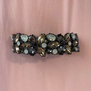 Free with $35 Purchase! Aldo Gunmetal Gem Bracelet